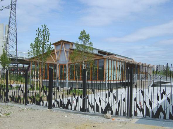 Pavillon des Berges au Parc du Chemin de l'Ile – NANTERRE (92)